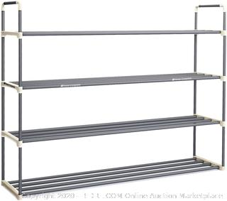 home complete 4 tier shoe rack for 24 Pairs (online $30)