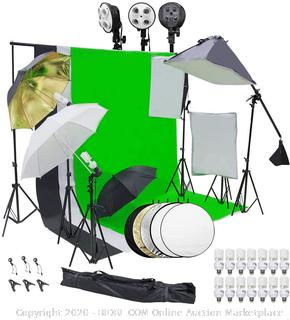 Photography Video Studio Lighting Kit (online $148)