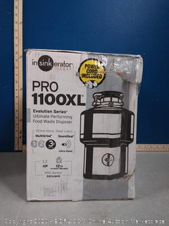 InSinkErator PRO1100XLCORD Pro Series 1.1 HP Food Waste Disposal with Evolution Series Technology (online $469)