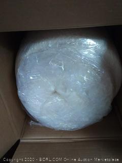 pure green natural latex mattress topper Queen 2 inch firm (online $189)