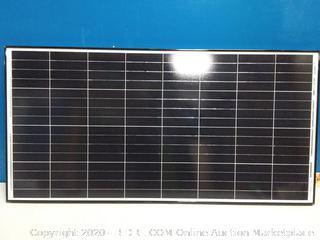 Renogy 100 Watt 12 Volt Monocrystalline Solar Panel -- Black Frame (online $119)