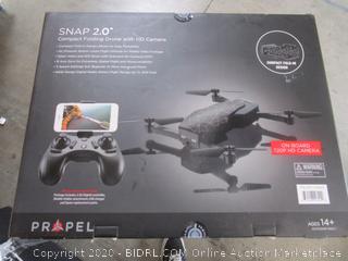 Propel Snap 2.0 Compact Folding Drone w/HD Camera