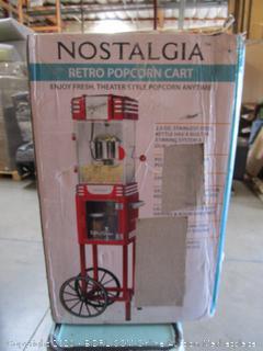 Nostalgia Retro Popcorn Cart