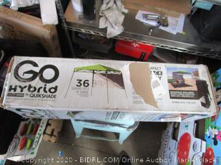 GoHybrid Quikshade Canopy Frame