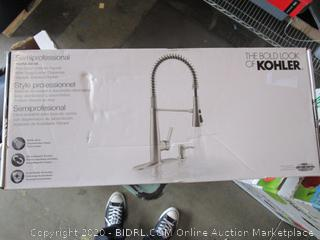 Kohler Semiprofessional Pull-Down Kitchen Faucet