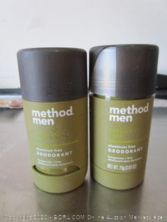 Method Men Deodorant