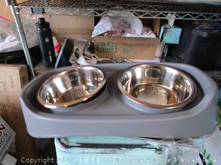 Dog Food Water Bowls