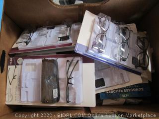 Misc. Box Lot Reading Glasses
