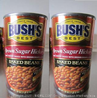 Bush's Brown Sugar Hickory Baked Beans, 2 Cans