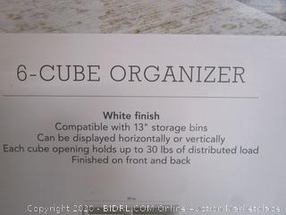 Threshold Cube Organizer