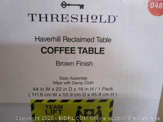 Threshold Coffee Table