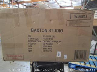 Baxton Studio Wine Cart