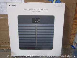 Nokia Heart Health Body Composition Wifi Scale