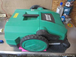 Bissell Big green Triple Brush Push Power Sweeper Please Preview