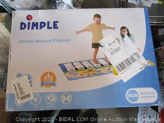 Dimple Animal Musical Mat