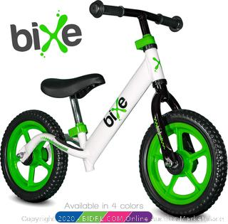 Aluminum Balance Bike for Kids and Toddlers - No Pedal Sport Training Bicycle for Children Ages 3,4,5 (Retails $69.99)