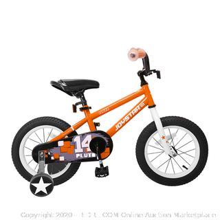 Joystar Pluto 16 inch wheeled orange boys bike