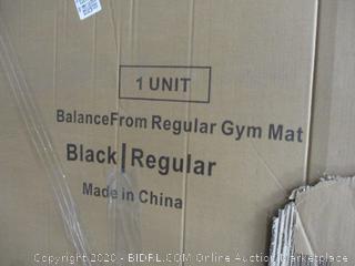Balance from Regular Gym Mat