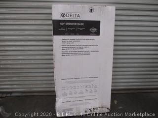 """Delta 60"""" Shower Base"""
