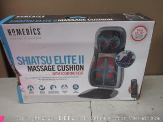 Homedics Shiatsu Elite II Massage Cushion with soothing Heat