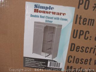 Double Rod Closet with Cover