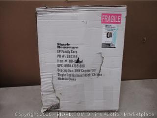 Commercial Single Rod Garment Rack