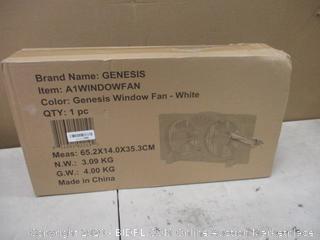 Genesis Window  Fan