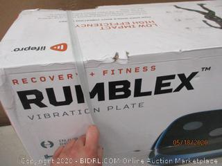 Recovery + Fitness Rumblex Vibration Plate    factory Sealed