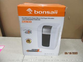 Bonsail  Paper Shredder