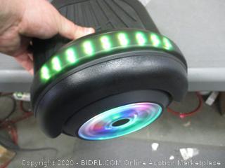Self-balance Scooter  Powers On