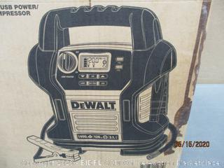 DeWalt Portable Power jump Starter