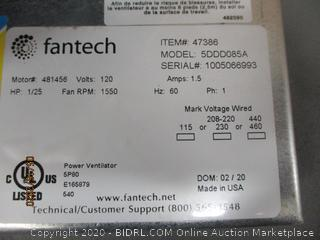 Fantech See Pictures
