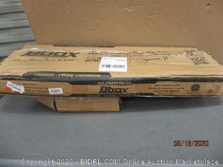 """Bbox Dodge Ram Quad Cab/Crew Cab 2002 & Up Single 10"""" enclosure"""