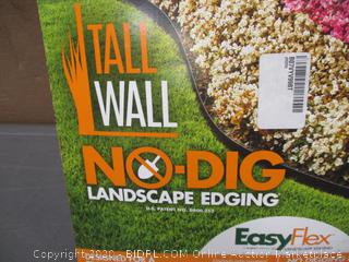Tall Wall No Dig Landscape edging