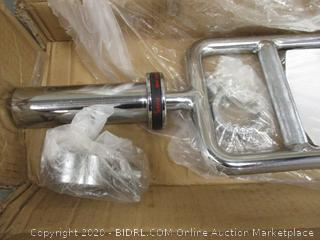 Olympic Tricep Bar with Ring Collars