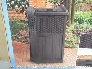 Suncast Trash Hideaway refuse Container