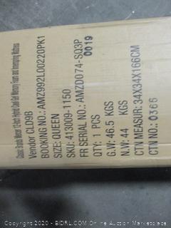 Classic Brands Mercer 12 Inch Hybrid Cool Gel Memory Foam and Innerspring Mattress, Queen
