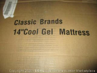 "Classic Brands 14"" Cool Gel Mattress, Full"
