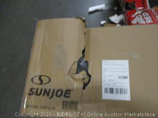 Sun Joe iON16LM 40-Volt 16-Inch Brushless Cordless Lawn Mower (Retail $257.00)