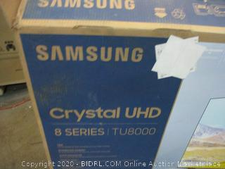 "Samsung Crystal UHD 50""  See Pictures"