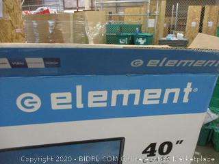 """Element 40""""  Powers on see pictures"""