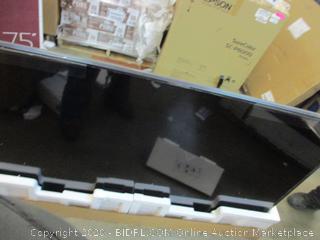 """LG USD TV  75"""" broken, cracked screen"""