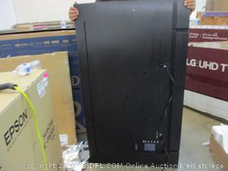 "Samsung  UHD TV  65"" Cracked Screen , power problems"