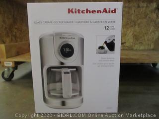 Kitchen Aid Glass Carafe Coffee Maker