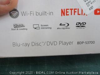 Sony Blu-ray Disc/ DVD Player