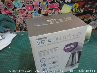 Sienna Vela On The Go Garment Steamer