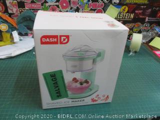 Dash Shaved Ice Maker