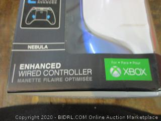 XBOX Enhanced Wired Controller missing pieces