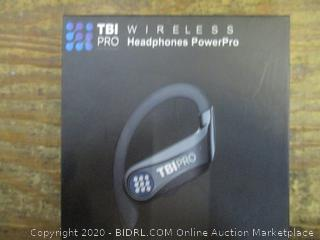 TBI Wireless Headphones Power Pro