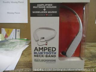 Amped Bluetooth Neck Band Multi Microphone